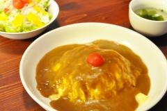 オムカレー…¥1,000