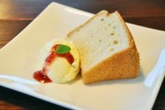 シフォンケーキ…¥400